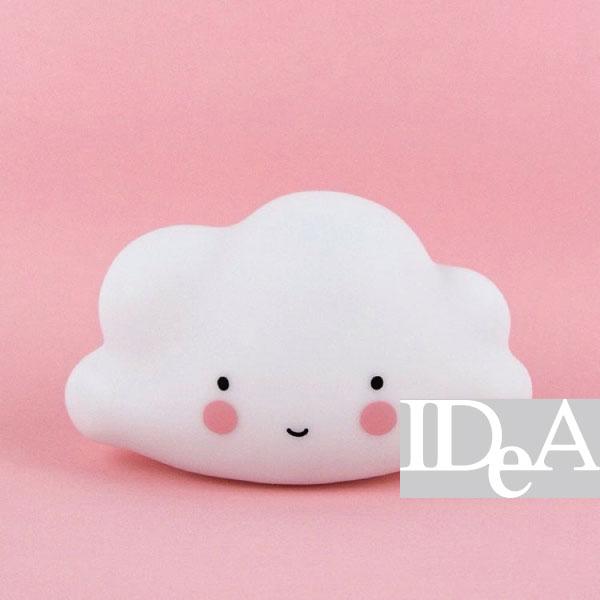 雲朵造型發光小夜燈 寶寶安撫燈 IG 北歐風 療癒 白色 兒童 床頭燈 餵奶 裝飾品 LED