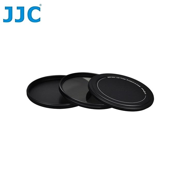 我愛買JJC原廠保護鏡金屬收納盒SC-62 62mm濾鏡盒62mm保護鏡盒保護盒MC-UV保護鏡儲存盒保護鏡保存盒