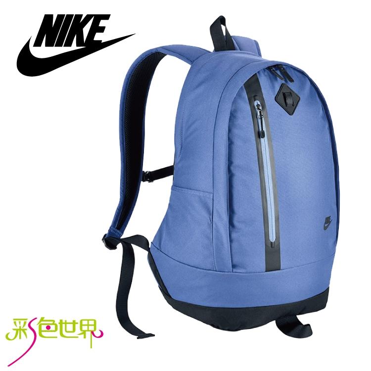 NIKE後背包包大容量筆電包韓版帆布包防潑水學生書包彩色世界5230-010
