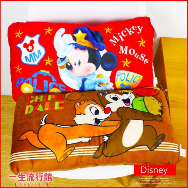 最後3個迪士尼史迪奇正版長方形午睡枕頭抱枕娃娃靠枕生日禮物B16249