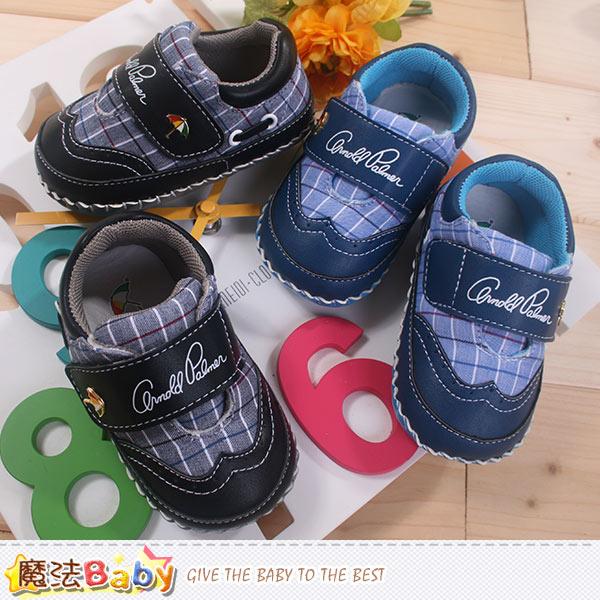 阿諾帕瑪專櫃款真皮中底寶寶鞋 魔法Baby