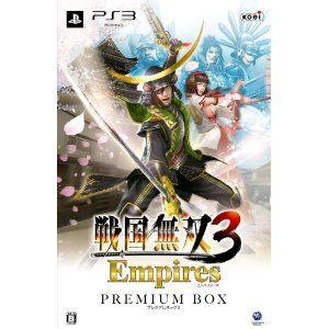 戰國無雙3帝王傳Premium Box版PS3亞洲日文版現金刷卡價提供超商取貨