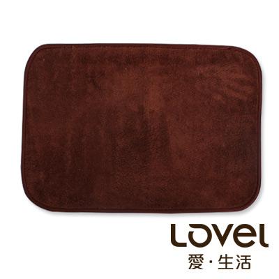 里和Riho LOVEL馬卡龍超細纖維止滑浴墊地墊巧克咖腳踏墊防滑墊