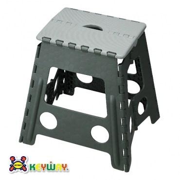 KEYWAY休閒摺合椅灰色款PP-0120 39x32.2x39.5cm
