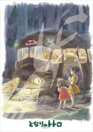【拼圖總動員 PUZZLE STORY】公車到達 日本進口拼圖/Ensky/龍貓/300P
