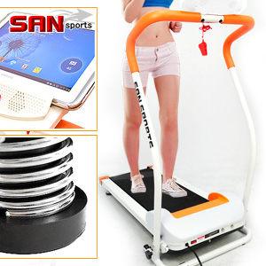 電動跑步機超元氣跑步機8避震墊時速達10KM運動健身器材美腿機專賣店SAN SPORTS特賣會