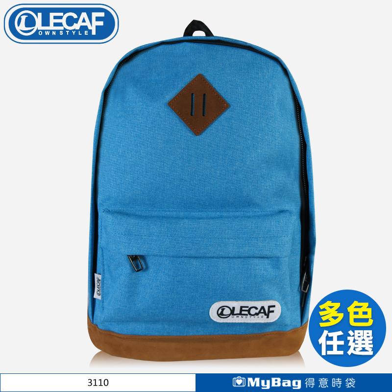 LECAF 後背包 電腦包 休閒包 雙肩包 3110 得意時袋