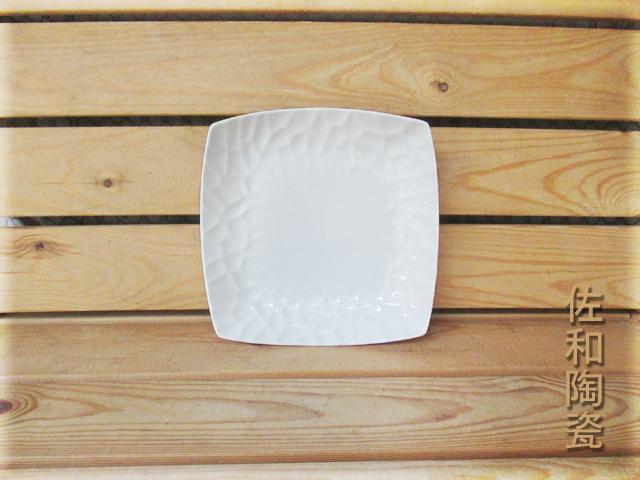 佐和陶瓷餐具~82T132-10 10吋水立方正方深盤開店餐廳擺盤宴會盤