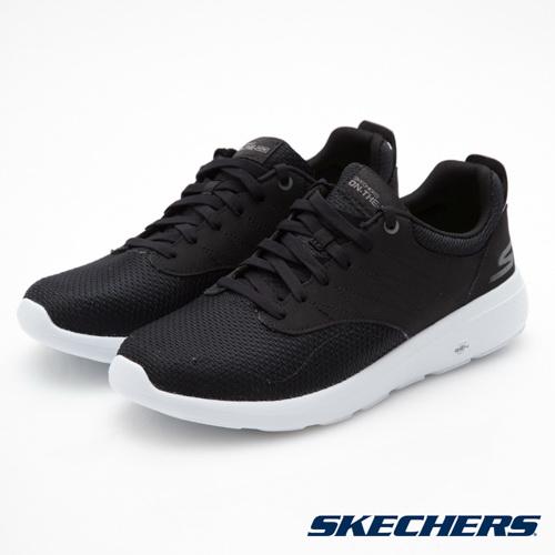 SKECHERS男鞋健走系列OnTheGO City黑白54307BKW