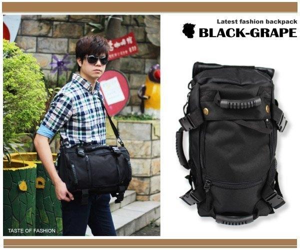 黑葡萄ALI915美式個性四用運動後背包斜背包筆電包平板電腦熱賣商品