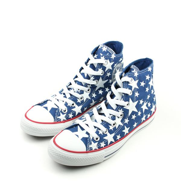 CONVERSE Chuck Taylor All Star帆布鞋藍男女鞋148707C no145