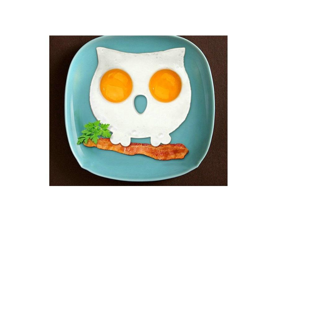 熱銷創意廚房硅膠煎蛋器貓頭鷹煎蛋器貓頭鷹煎蛋模