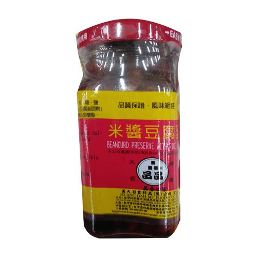 品品黃大目米漿豆腐乳140g【愛買】