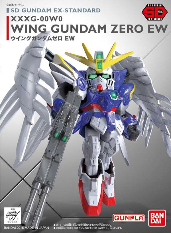 鋼彈模型 SD GUNDAM EX-STANDARD 004 飛翼零式鋼彈EW