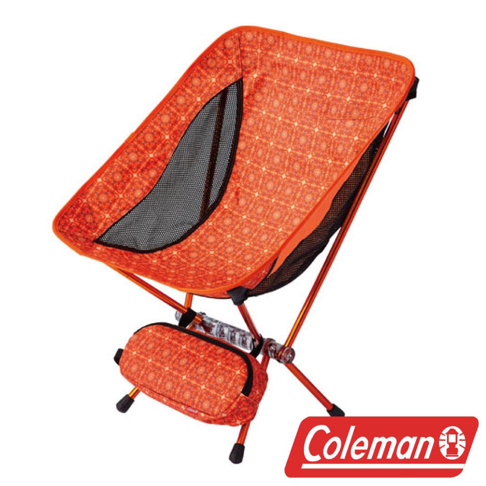Coleman LEAF隨行椅杏黃超輕鋁合金折疊月亮椅摺疊椅休閒椅折疊椅折合椅CM-26740