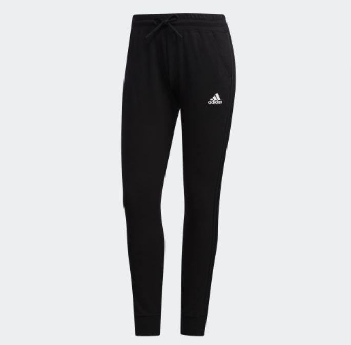 Adidas PT LIGHT FT 3S 女款黑色運動長褲-NO.EH3888