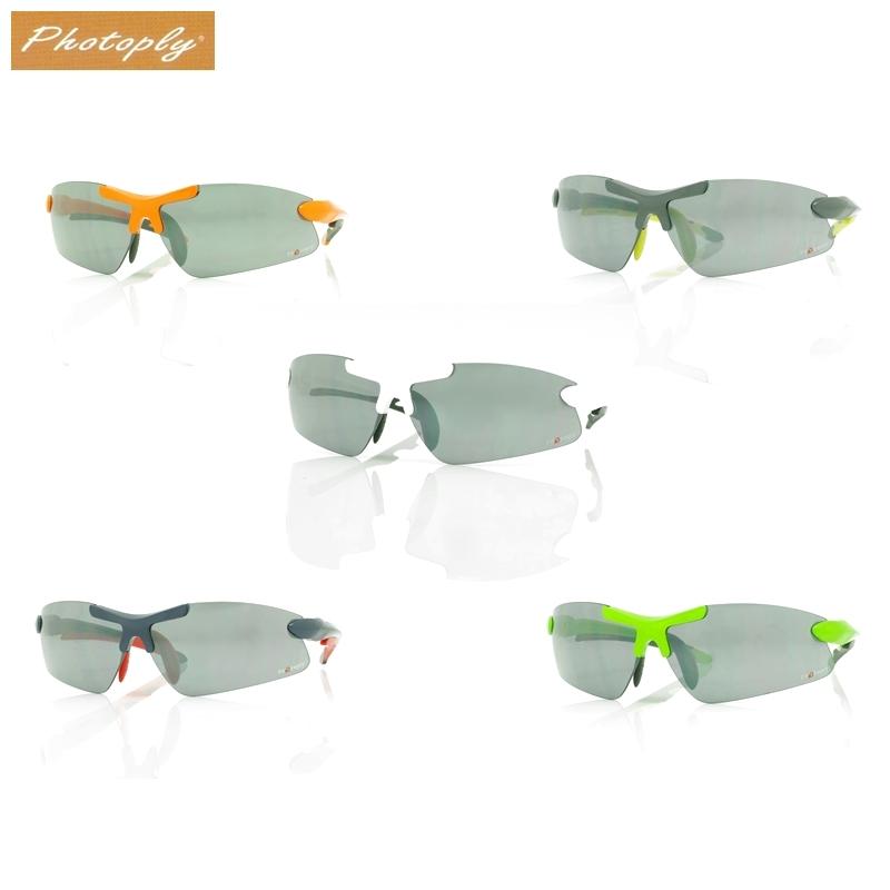 我愛買台灣製造PHOTOPLY淺水銀亮面防爆鎧甲037運動太陽眼鏡抗眩光眼鏡抗紅外線眼鏡防藍光眼鏡