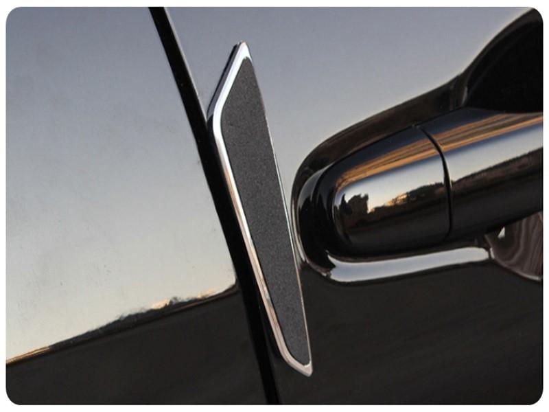 2107防撞條4入汽車用車門邊防撞貼EVA防刮防護條車載安全防護貼防撞膠條