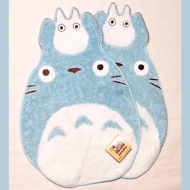 TOTORO龍貓造形純棉立體方巾毛巾手帕日本帶回正版品
