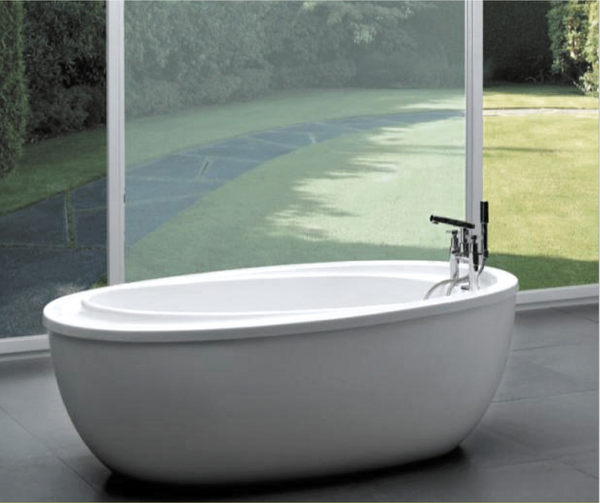 麗室衛浴BATHTUB WORLD LS-822壓克力獨立造型缸180*96*68CM