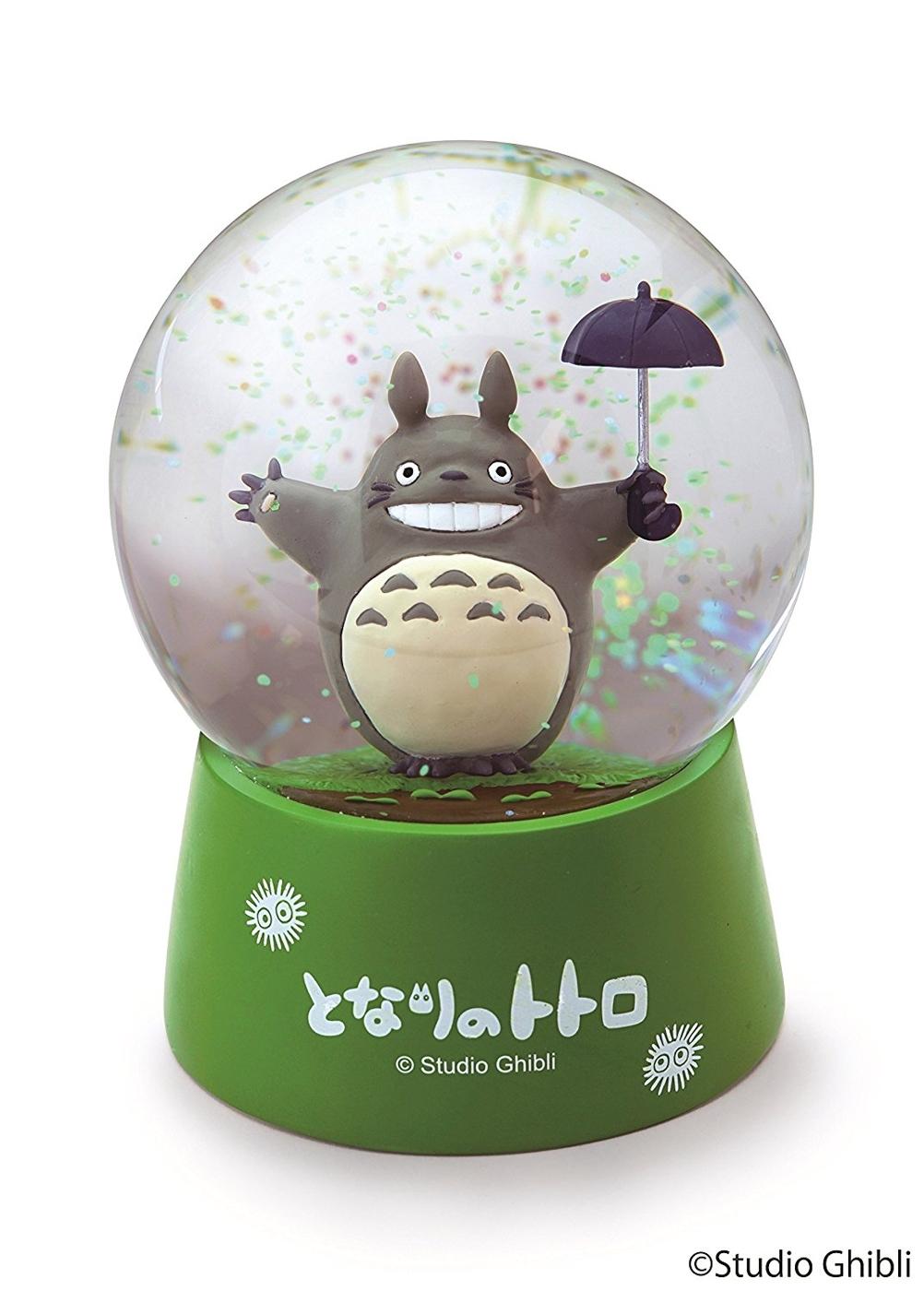 龍貓豆豆龍擺飾水晶球大龍貓拿雨傘863260代購通販屋
