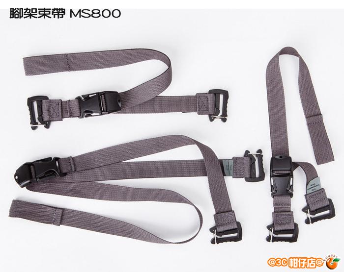 MindShift 曼德士 Attachment Straps 腳架束帶 灰色 公司貨 MS800 適用 rotation180° Professional