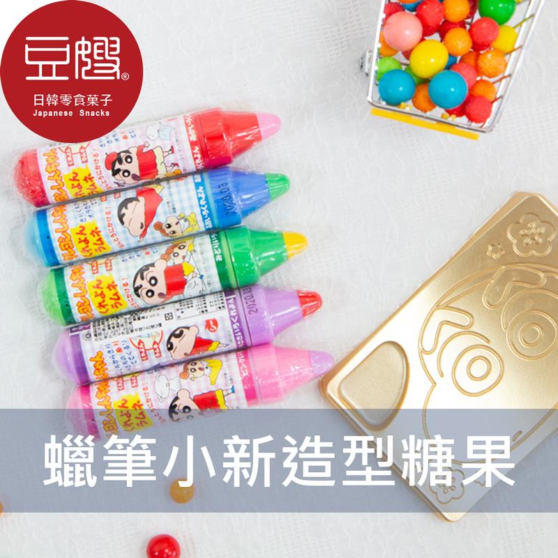 【豆嫂】日本零食 Orion 蠟筆小新鉛筆造型糖果(顏色隨機出貨)