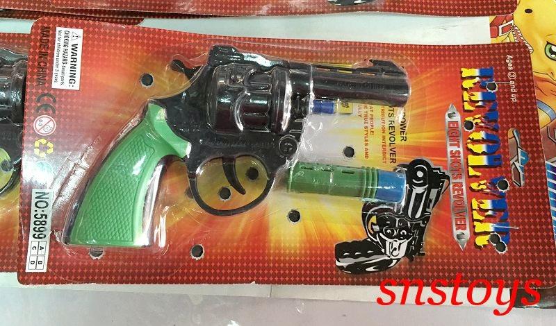 sns 古早味 手槍 古早味 懷舊童玩 玩具 8發玩具手槍 手槍 長16cm寬9cm 可裝 8發連砲 (有炮聲)