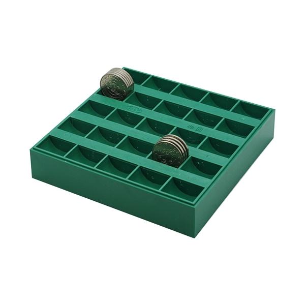義大文具批發網~W.I.P 錢幣整理盒 JC2500 可放10元硬幣專用/存錢筒 零錢整理盒