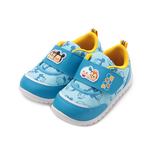 DISNEY Tsum Tsum 印花休閒鞋 藍 中小童鞋 鞋全家福