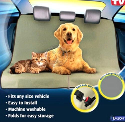 培菓平價寵物網petzoom汽車用防水寵物毯汽車後座寵物車墊145*145cm