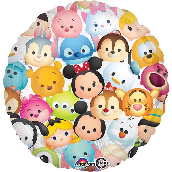 18吋鋁箔氣球(不含氣)-Tsum Tsum
