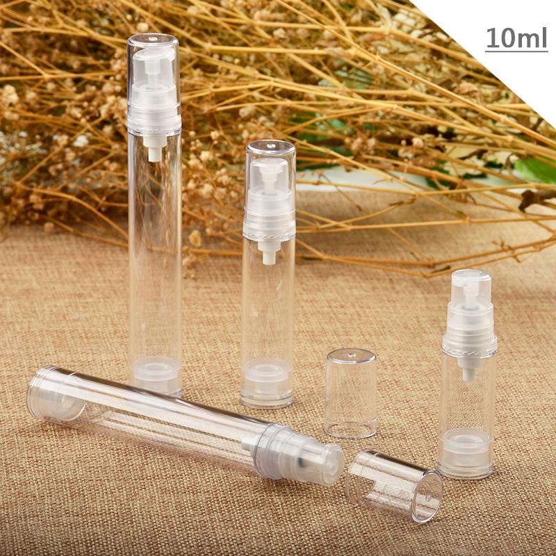 『藝瓶』瓶瓶罐罐 空瓶 空罐 化妝保養品分類瓶 填充容器 按壓瓶 透明乳液/壓泵真空分裝瓶-10ml