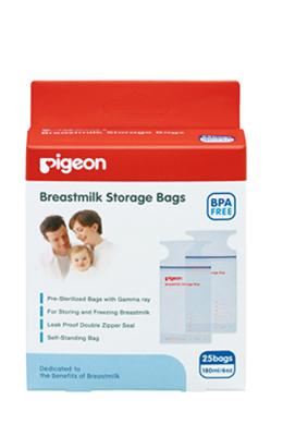 專品藥局貝親Pigeon母乳冷凍袋180ML 25入袋實體簽約店面2006499