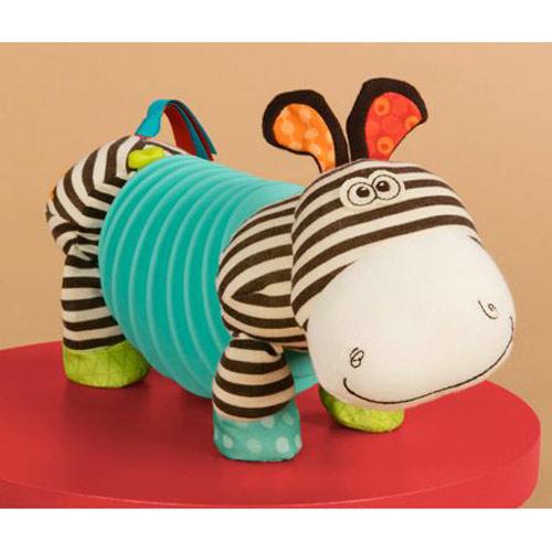 奇買親子購物網美國B.Toys拉風斑馬單音手風琴