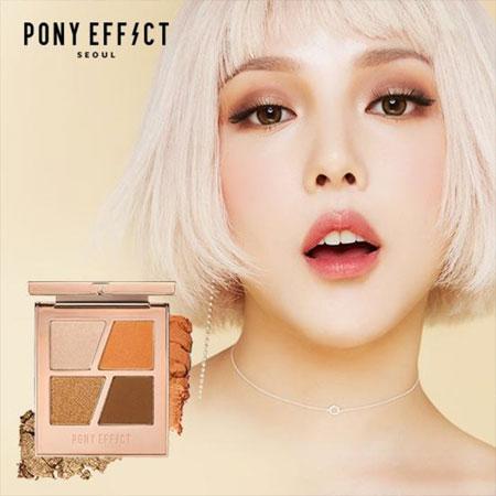 韓國MEMEBOX PONY EFFECT韓妞4色訂製眼彩盤6g眼影盤4色眼影
