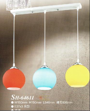 玻璃餐桌燈64611家庭/咖啡廳/居家裝飾/浪漫氣氛/藝術/餐桌/燈具達人