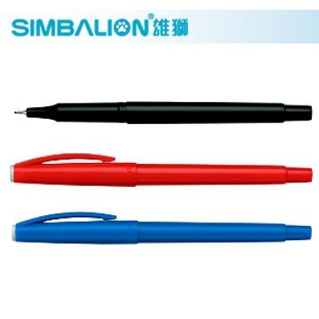 [奇奇文具]【雄獅 SIMBALION 簽字筆】 雄獅SIMBALION NO.100 0.5mm 快樂簽字筆/簽名筆 (3色可選)