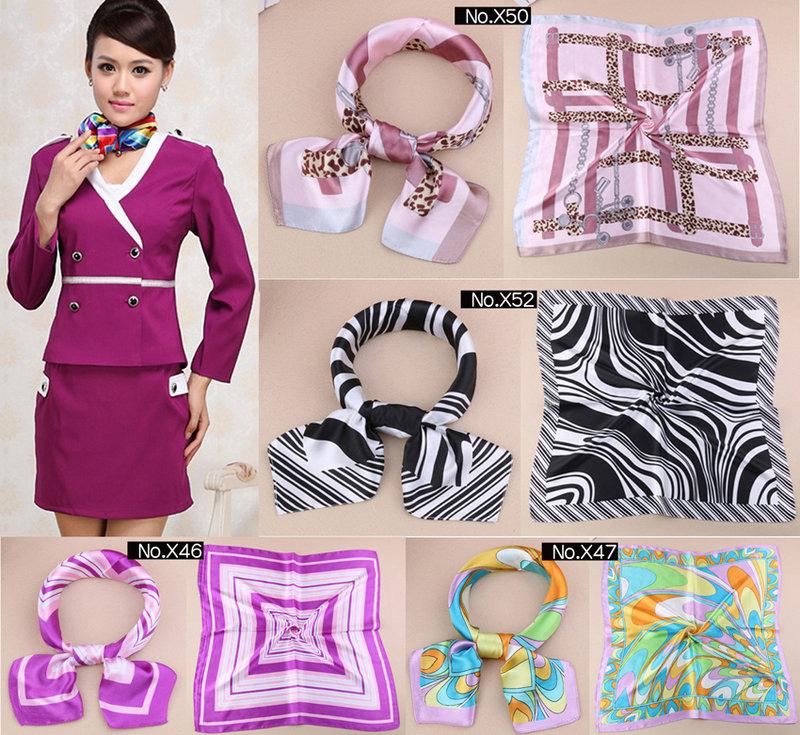 得來福領結K850新款絲巾餐飲空姐圍巾絲巾領巾售價150元