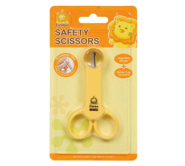 小獅王辛巴S1738放大鏡嬰兒剪刀曲面德芳保健藥妝