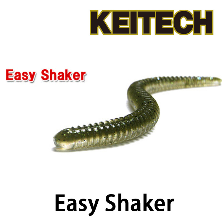漁拓釣具KEITECH Easy Shaker 3.5 4.5軟蟲