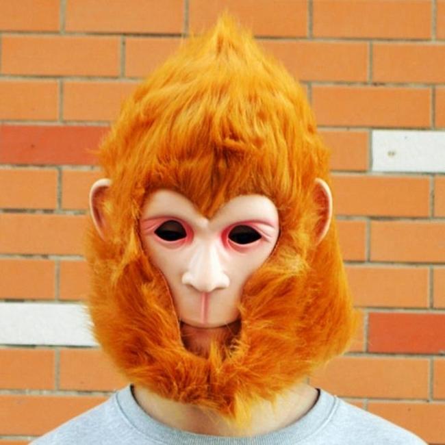 【塔克】齊天大聖猴子 西遊記 超級賽亞人 唐三丈 悟空 面具/眼罩/面罩 cosplay 變裝