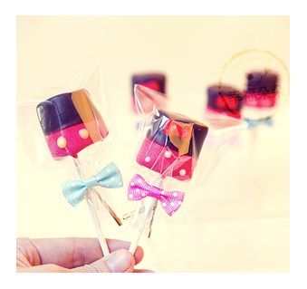 幸福朵朵米奇&米妮手作巧克力棉花糖x50支婚禮小物二次進場擺桌創意喜糖生日慶生