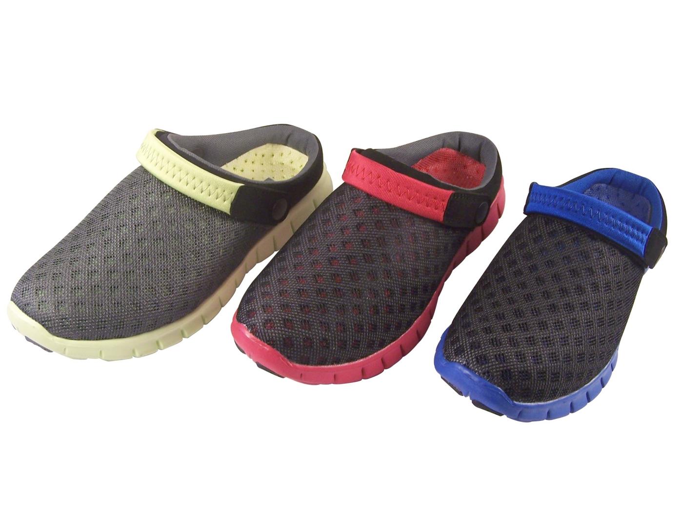 『雙惠鞋櫃』◆JOES VALENTINY◆  懶人洞洞鞋 ◆ (H298) 黑藍、黑紅、灰黃