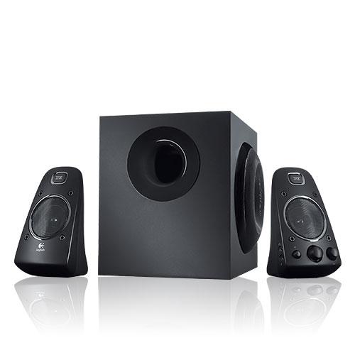 Logitech羅技Z623 2.1立體聲道三件式音響喇叭