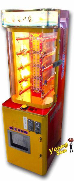 鎖鏈機 禮品機 大型電玩販售、活動租賃、寄檯規劃 陽昇國際 夾娃娃機