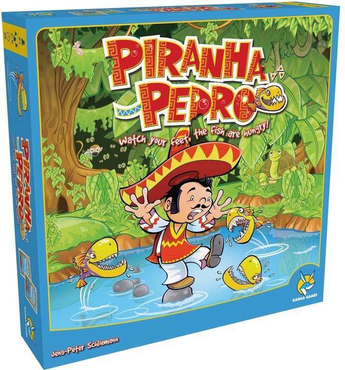 楷樂派德羅與食人魚Piranha Pedro中英正版桌遊德國益智遊戲中壢可樂農莊
