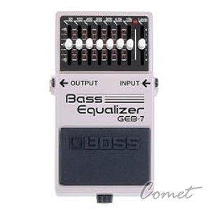 Boss GEB-7電貝斯等化效果器Boss效果器Bass Equalizer BASS GEB7貝斯單顆效果器