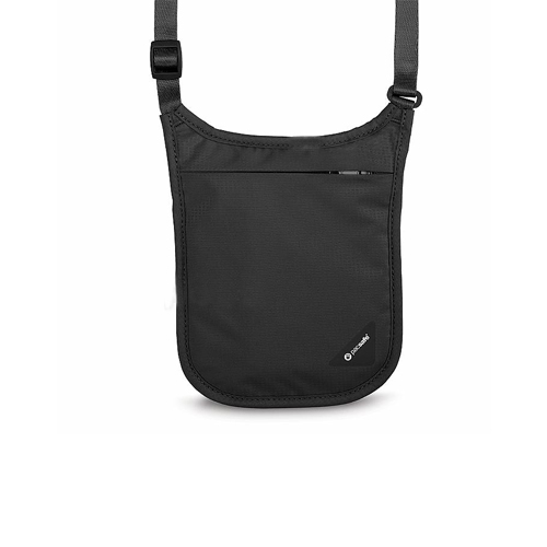 Pacsafe RFID V75掛頸包-黑色indulgence寵愛自己