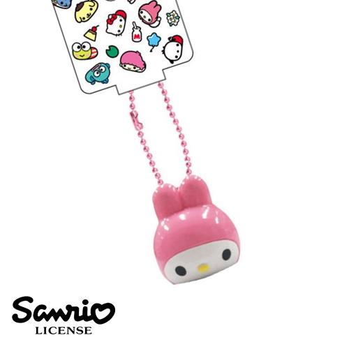 日本進口正版美樂蒂Melody三麗鷗人物系列立體全身趴趴造型吊飾609182